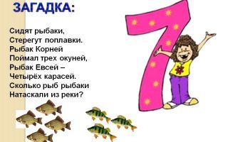 Детская загадка про число