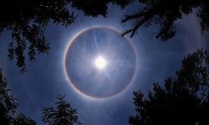Гало – загадочные круги вокруг солнца