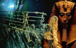 """""""титаник"""" погубила египетская мумия"""