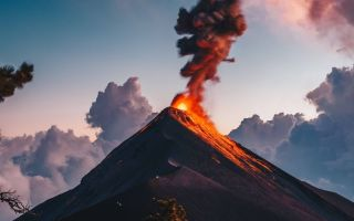 Интересное о вулканах
