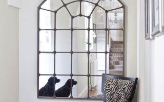 Зеркальная иллюзия окна