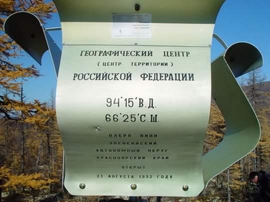 Озера центральной россии
