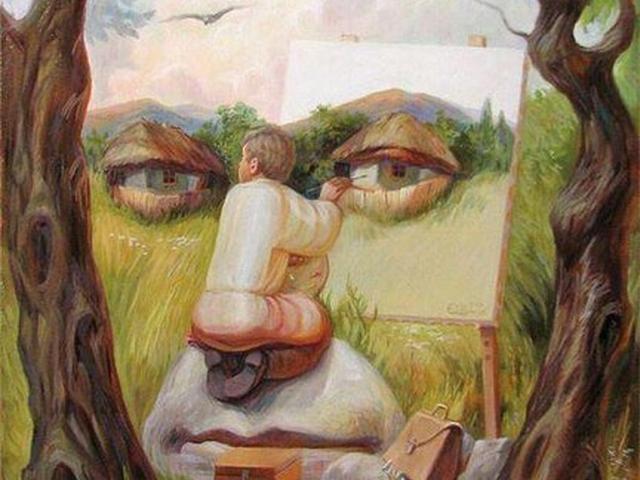 Обман зрения в картинках приколы, короткие